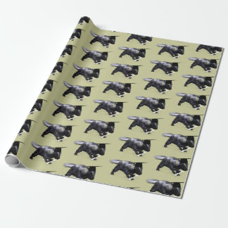 Funny Smart Graduate Skunk Wrapping Paper