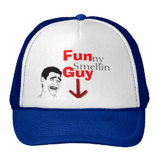 Funny Smelling Guy Hat