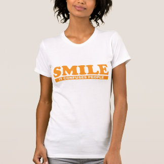Funny Smile It Confuses People T Shirt