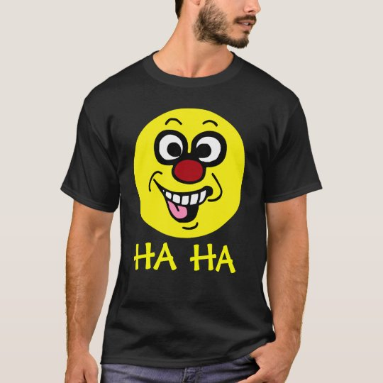 Funny Smiley Face Grumpey T-Shirt