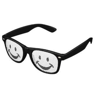 Funny Smiley face + your backg. & ideas Wayfarer Sunglasses