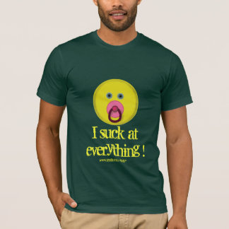 Funny smiley t-shirt design