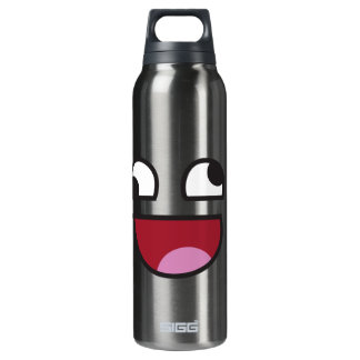 Funny Smiley Thermos Bottle