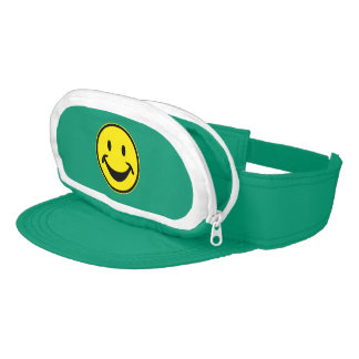 Funny Smiley yellow + your backg. & ideas Visors