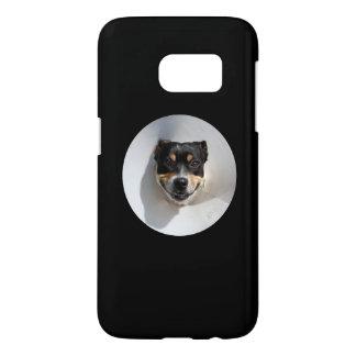 Funny smiling dog samsung galaxy s7 case