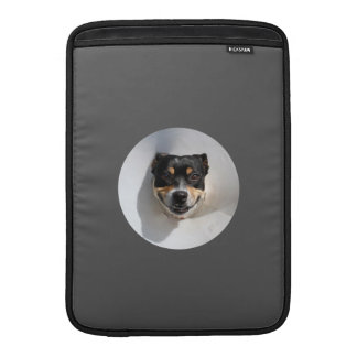 Funny smiling dog sleeve for MacBook air