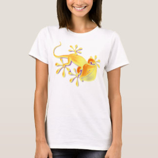 Funny Smiling Gecko + your background & ideas T-Shirt