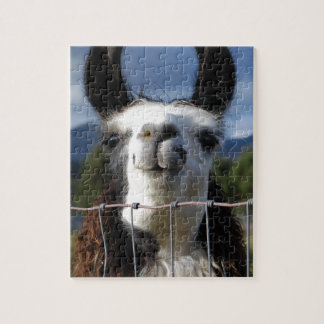 Funny Smiling Llama in Southern Oregon Puzzle