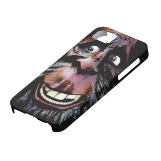 Funny Smiling Sasquatch Face iPhone SE/5/5s Case