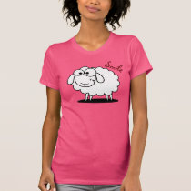 Funny smiling sheep T-Shirt