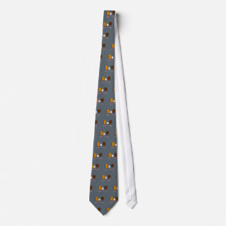 Funny Smores Characters Cartoon Tie