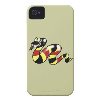 Funny snake iPhone 4 cover