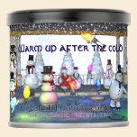 Funny Snowmen/Christmas Lights Powdered Drink Mix