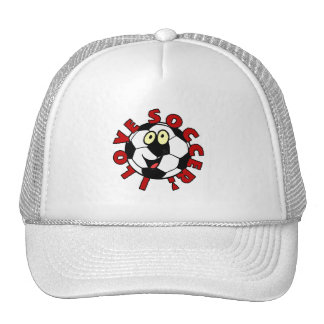 Funny Soccer Ball T shirts and Gifts Trucker Hat