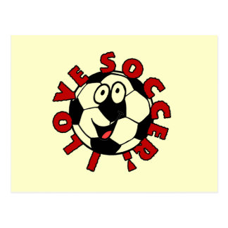 Funny Soccer Ball T shirts and Gifts Postcard