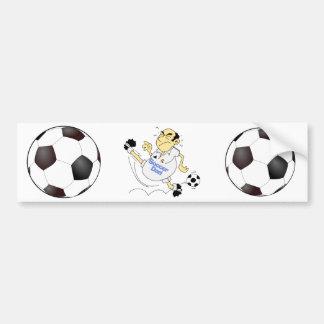 Funny Soccer Dad Bumper Sticker