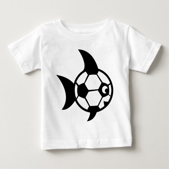 funny soccer fish baby T-Shirt