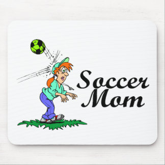 Funny Soccer Mom Mouse Pad