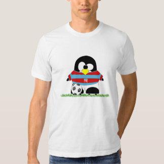 Funny Soccer Penguin T-shirt