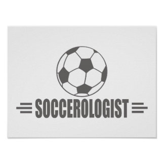 Funny Soccer Poster