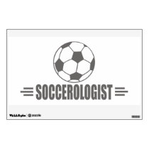 Funny Soccer Wall Decal
