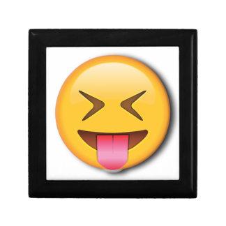 Funny Social Emoji Keepsake Box