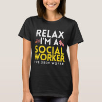 Funny Social Work Worker Gift T-Shirt
