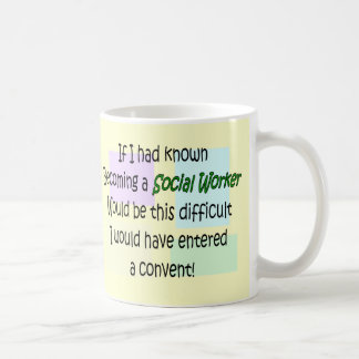 Funny Social Worker Gifts Coffee Mugs