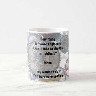 Funny Software ENGINEER Joke Change a Lightbulb Coffee Mug