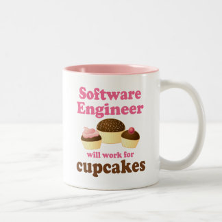 Funny Software Engineer Two-Tone Coffee Mug