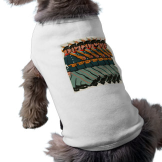 Funny Soldiers Marching Doggie Shirt