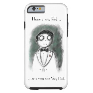 Funny Sommelier Vampire Tough iPhone 6 Case