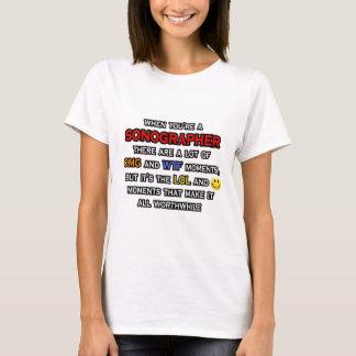 Funny Sonographer ... OMG WTF LOL T-Shirt