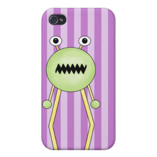 Funny Space Alien iPhone 4/4S Case