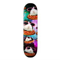 Funny space guinea pig skateboard