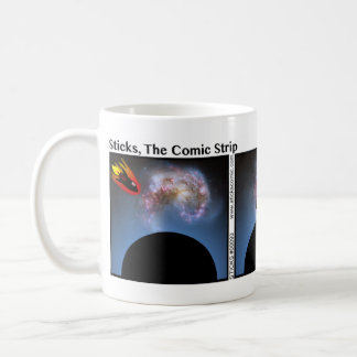 Funny Spaceship Stickman Mug - 093