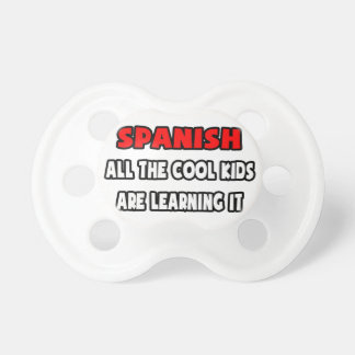 Funny Spanish Teacher Shirts and Gifts Pacifier