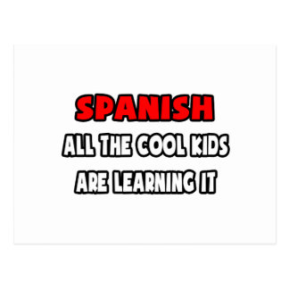 Funny Spanish Teacher Shirts and Gifts Postcard