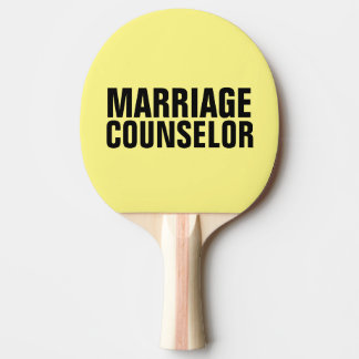 Funny Spanking Paddles, Marriage Counselor Ping-Pong Paddle