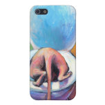 Funny Sphynx sphinx cat drinking Cover For iPhone 5