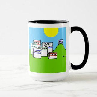Funny Spice Cartoon Coffee Mug for Expert Cooks