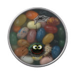 funny spider jelly belly candy tin