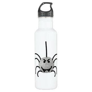 funny spider 24oz water bottle