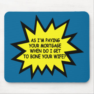 Funny spoof anti Obama Mouse Pad