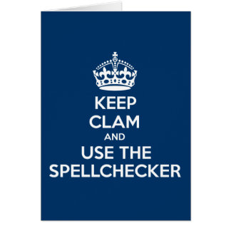 Funny,spoof keep calm and carry on card