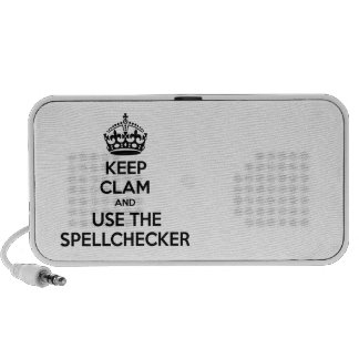 Funny,spoof keep calm and carry on mini speaker