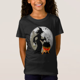 Funny Spooky Scary Witch Halloween Party T-shirt