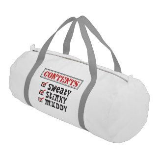 Funny Sports - © Contents: Sweaty, Stinky, Muddy Duffle Bag