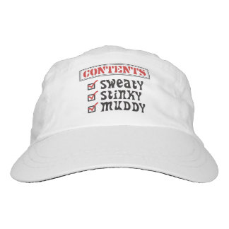 Funny Sports - © Contents: Sweaty, Stinky, Muddy Headsweats Hat