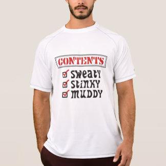 Funny Sports - © Contents: Sweaty, Stinky, Muddy T-Shirt